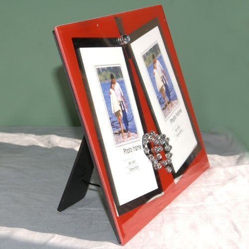 Double Photo Frame with FREE Photo Prints - Send gifts to Nepal500