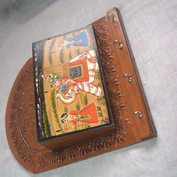 Send tihar bhaitika gifts to nepal online gift shopping in nepal with - Wooden letter and key holder ...