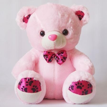 Pink cute teddy bear wallpapers - photo#12