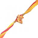 Ganesh Ji Rakhi - Ganesh Side Decorated Design