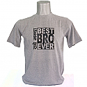 Sabai Bhanda Best BRO Ever Tshirt - Gray (Medium, Large, XLarge - Round Neck)