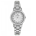 Titan Silver White Dial Analog Watch for Women (917SM03)