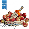 Teacher's Whisky in Apple Basket