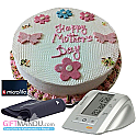 Mother's Day Cake and BP Monitor Machine