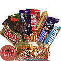 Dozen Chocolates in Beautiful Pouch Bag (12 Chocolates)