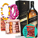 JW Double Black, Mithai Box, Tihar Bhai-Tika Mala with Free Dry Nuts