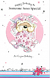 Someone Soo Special Birthday Greeting Card
