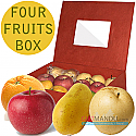Four Rows of Fruits Gift Box for Mother's Day