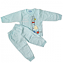 Sky Blue Pajama For Babies (3-6 Months)