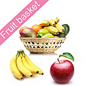 Fresh Assorted Fruits in Round Basket for Mother's Day (3kg)