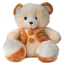 Lovely Smiley Teddy Bear with Waist Coat (30 Inches)