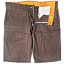 Summer Cotton Half Pant (Brown)