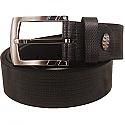Stylish Leather Belt Formal Black Pin Buckle