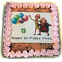 Motu Patlu Balloon Photo Cake for Kathmandu Valley