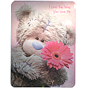I love the way you love me - Archies Big Size Card