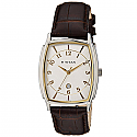 Titan Brass Case White Dial Analog Watch for Men (1486SL01)