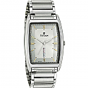 Titan Brass Case White Dial Analog Watch for Men (1640SM02)