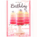 On Your Birthday - Greeting Card