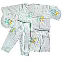 Baby Clothes Set For New Born Baby (6 items) - Green