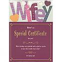 Wifey - Greeting Card