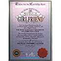 World's Greatest Girlfriend - Archies Big Size Greeting Card