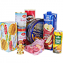 Special Hamper of Sweets, Cookies, Juice, Chocolates and Ganesh Ji Statue (9Items)