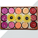 Designers Candles Gift Box (15 cute mini candles - for b'days & anniversaries)