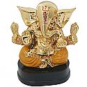 Golden Ganesh Ji Statue(6 Inch)