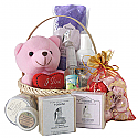 Natural Herbal Body Care, Gourmet Chocolates, Teddy Basket