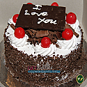 Cute Valentine Mini Black Forest Cake from Annapurna Hotel