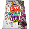 Our Love Is The Greatest - Signature Love Greeting Card