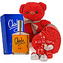 Love Package of Perfume, Teddy and Chocolates