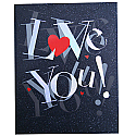 Love You - Archies Big Size Card
