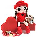 Love Red Valentine Chocolate, Doll