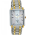 Titan Brass Case Silver White Dial Analog Watch for Men (1506BM01)