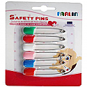 Farlin Safety Pin 6pcs Card (BF-121-6)