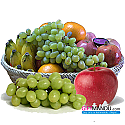 Premium Assorted Fruits in Oval Basket (4kg)