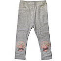 Cotton Leggings for Kids (Grey Color) Size: 9