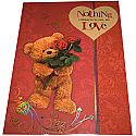 Nothing Compares to You My Love - Archies Large Size Booklet Greeting Card