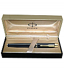 Parker IM Metal Black GT RB Pen