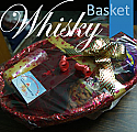 JW Red Label with Salted Nuts, Candle and Chocolate in Basket