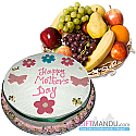 Fruit Basket and Mother's Day special Cake