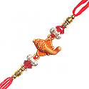 Ganesh Ji Special Rakhi - Ganesh Front Decorated Design