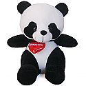 Cute Baby Panda with Heart Pendant