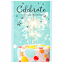 Celebrate It's Your Birthday - Greeting Card