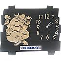 Ganesh Ji Blessings Wall Clock