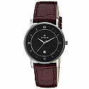 Titan Black Dial Analog Watch for Men (9162SL03)