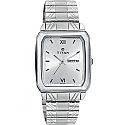 Titan Brass Case Silver White Dial Analog Watch for Men (1581SM03)