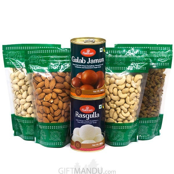 Dry Nuts Gift to Nepal